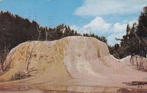 Orange Spring Mound Mammoth Yellowstone National Park 1954