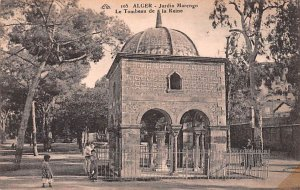 Jardin Marengo, Le Tombeau de la Reine Alger Algeria Unused