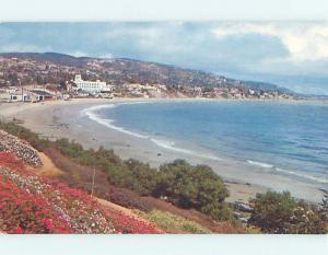 Unused Pre-1980 SCENE AT BEACH Laguna Beach California CA M7083