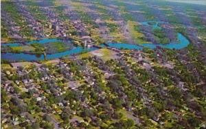 Wisconsin Wausau Aerial View Showing Wisconsin River