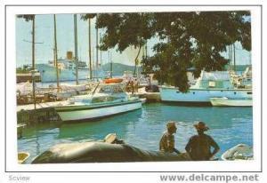 St Thomas, US Virgin Islands,PU-1970, Yacht haven & West India Company Docks