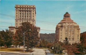 Asheville North Carolina~County Courthouse and City Hall 1950s
