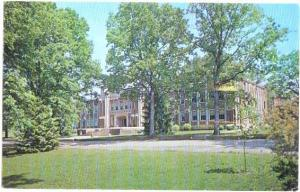 Rhyne Administration Bldg, Lenoir Rhyne College, Hickory, NC, 1968 Chrome