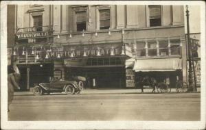 San Francisco, CA  Gloucester City NJ Cancel Car & Vaudeville Theatre c1910 RPPC