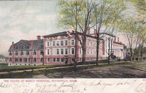 Massachusetts Pittsfield The House Of Mercy Hospital 1906