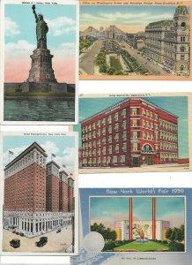 USA - New York Postcard Lot of 20 01.12