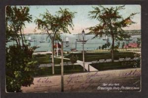 ME Fort Allen Park PORTLAND MAINE UDB 1907 POSTCARD