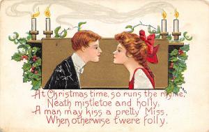 HBG Christmas~So Runs the Rhyme~Young People~Mistletoe & Holly~Folly~Candles~L&E