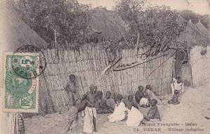 Senegal Dakar Village indigene 1909