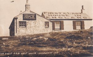 RP; LAND'S END, Cornwall, England, 1920-1940s; First And Last House In England