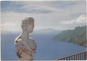 Entre deux Routes d'Italie, RAVELLO, used Postcard