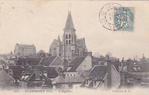 Clermont , France , PU-1910 : L'Eglise