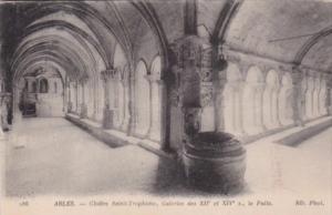 France Arles Cloitre Saint Trophine Galeries des Xii et XIV le Puits
