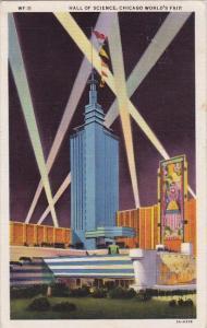 Hall Of Science Chicago World's Fair 1933-34 Curteich 1933