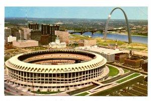 MO- St. Louis. Busch Memorial Stadium, Riverfront