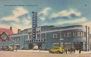 LOUISVILLE , Kentucky , 1941 ; Greyhound Bus Station