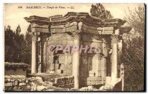 Old Postcard Baalbek Temple of Venus