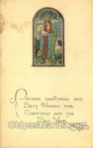 New Years Eve 1923 light wear yellowing on front, light postal marking on fro...