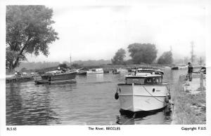 Beccles The River Boats Bateaux Frith's Series