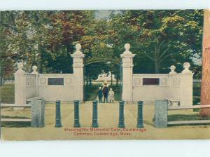 Divided-Back MONUMENT Cambridge Massachusetts MA HJ8147