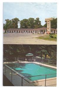 Millsboro Delaware DE Hickmans Motel Swimming Pool US 113