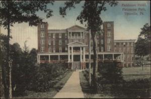 Titusville Pa Fildmore Hotel c1910 Postcard