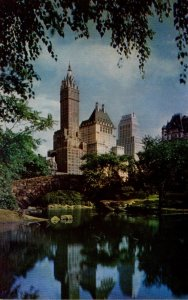 New York City Central Park and Fifth Avenue Hotels