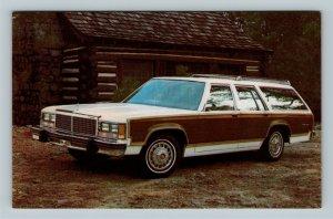 Automobile - 1979 LTD Country Squire Stationwagon, Chrome Postcard