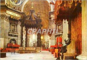 Postcard Modern Citta del Vaticano Basilica of S Peter's Confession