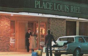 Place Louis Riel Winnipeg Canada Hotel Postcard