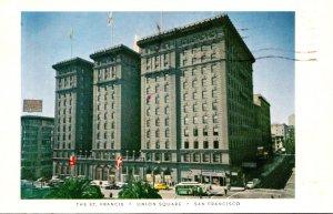 California San Francisco The St Francis Hotel 1963