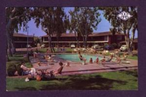 CA Town House Motor Hotel Motel FRESNO CALIF CALIFORNIA