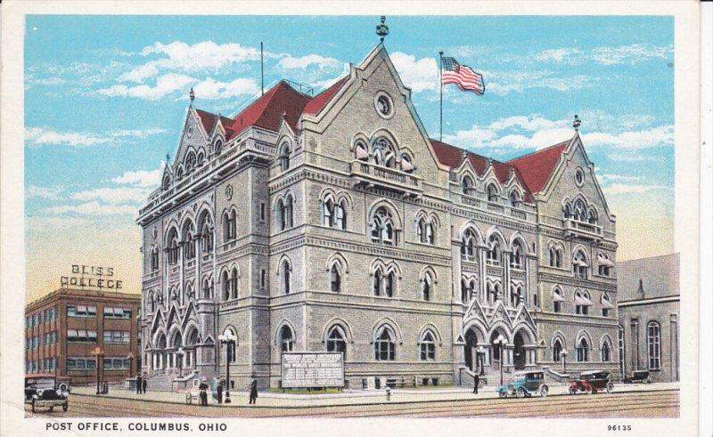 COLUMBUS, Ohio, 1900-1910's; Post Office