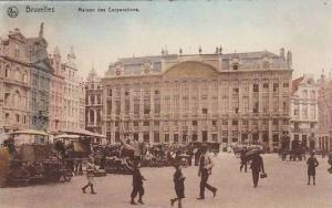 Maison Des Corporations, Bruxelles, Belgium, PU-1910