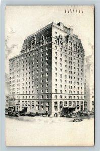 Baltimore MD-Maryland, Emerson Hotel, Advertising, Vintage c1939 Postcard