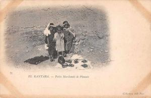 El Kantara Algeria Petits Marchands Small Merchants Selling Peppers PC J65631