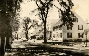 CT - Clinton. Main Street