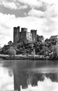 France Bourbon-L'Archambault - Le Chateau, vu de l'Etang Real-Photo 1965