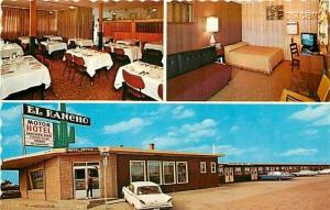 Canada, Saskatchewan, Weyburn, El Rancho Motor Hotel, Dexter Color No. 17103-C