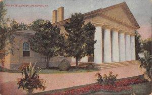 Curtis ?????Lee mansion Arlington, Virginia, USA Civil War Unused