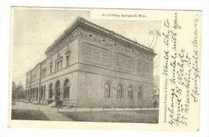 Art Building, Springfield, Massachusetts, 1906