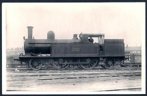 LONDON NORTHWESTERN Railroad Locomotive #1759 RPPC unused