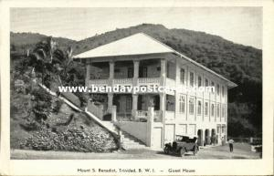 trinidad, B.W.I., Mount St. Benedict, Guest House (1920s)