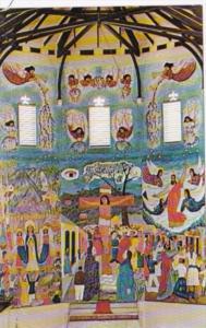 Haiti Port-au-Prince Primitive Muralsl Holy Trinity Cathedral