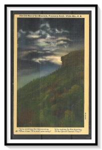 New Hampshire, White Mountains - Old Man Of The Mountain - [NH-073]