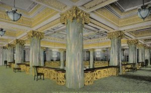 SALT LAKE CITY , Utah, 1900-10s ; Hotel Utah , mezzanine Floor