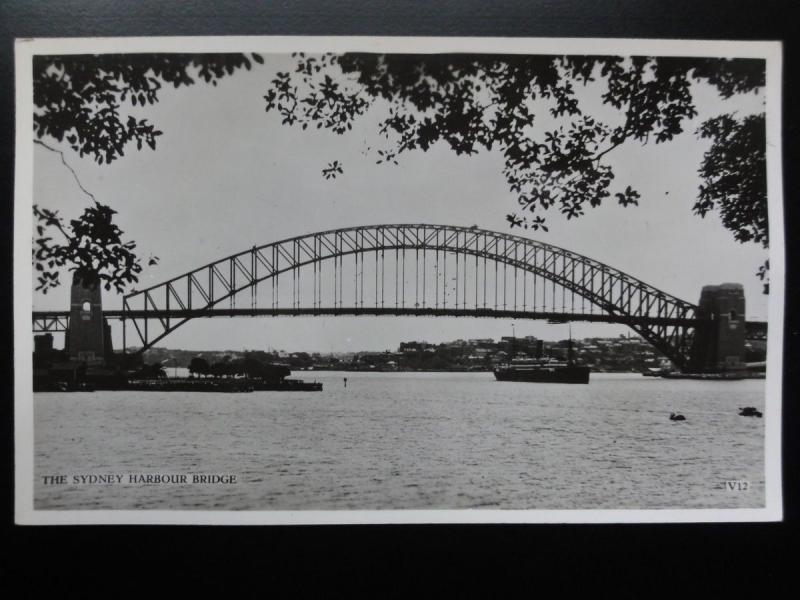 Australia: SYDNEY Harbour Bridge Old RP PC