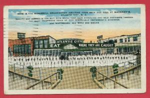 Hackneys Seafood Restaurant Atlantic City NJ 1931 Kropp