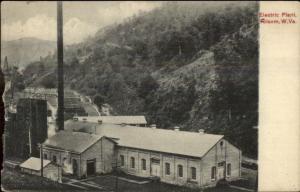 Tolsom or Folsom WV Electric Plant c1910 Postcard