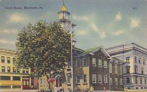 Exterior, Court House, Allentown, Pennsylvania,  30-40s